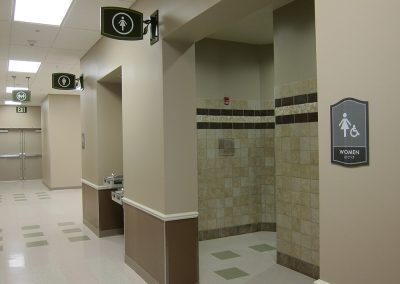 Common Area Restroom Entrance