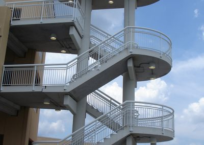 OPO Parking Deck Stair Tower