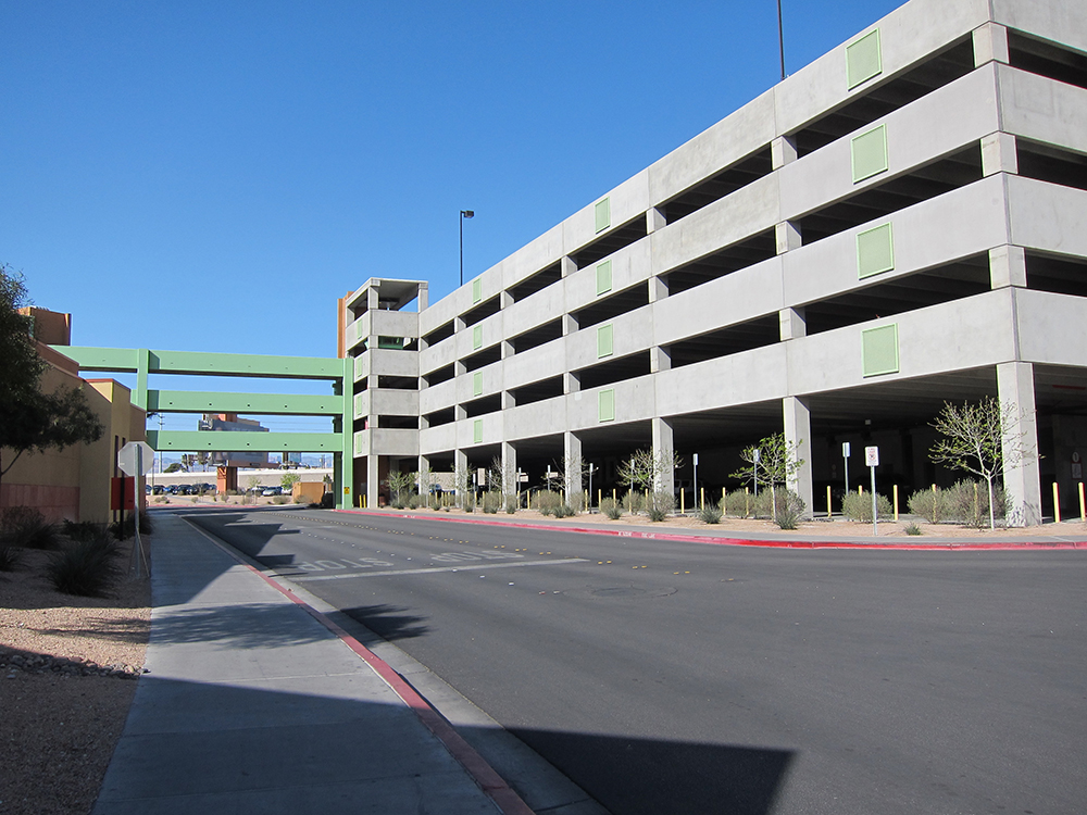 Las Vegas Premium Outlets North - Parking Deck B