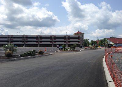 WCPO Parking Deck Northwest Facade