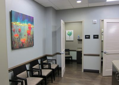 Patient Lounge and Dressing Rooms