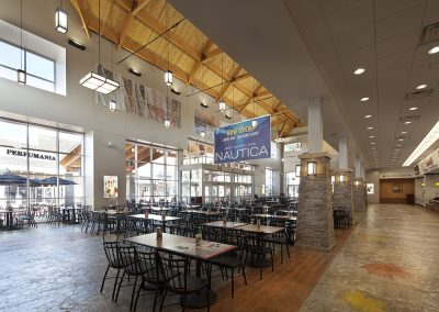 Merrimack PO Food Court Interior