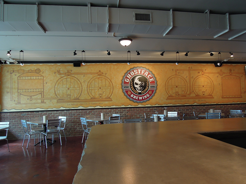 Ghostface Taproom Bar and Mural