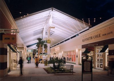 OPO Plaza de las Luces at Night