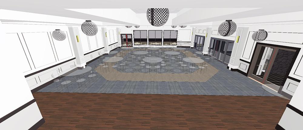 RCC Ballroom 3D View 5