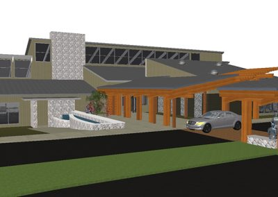 RCC Entry Porte-Cochere - Opt 4