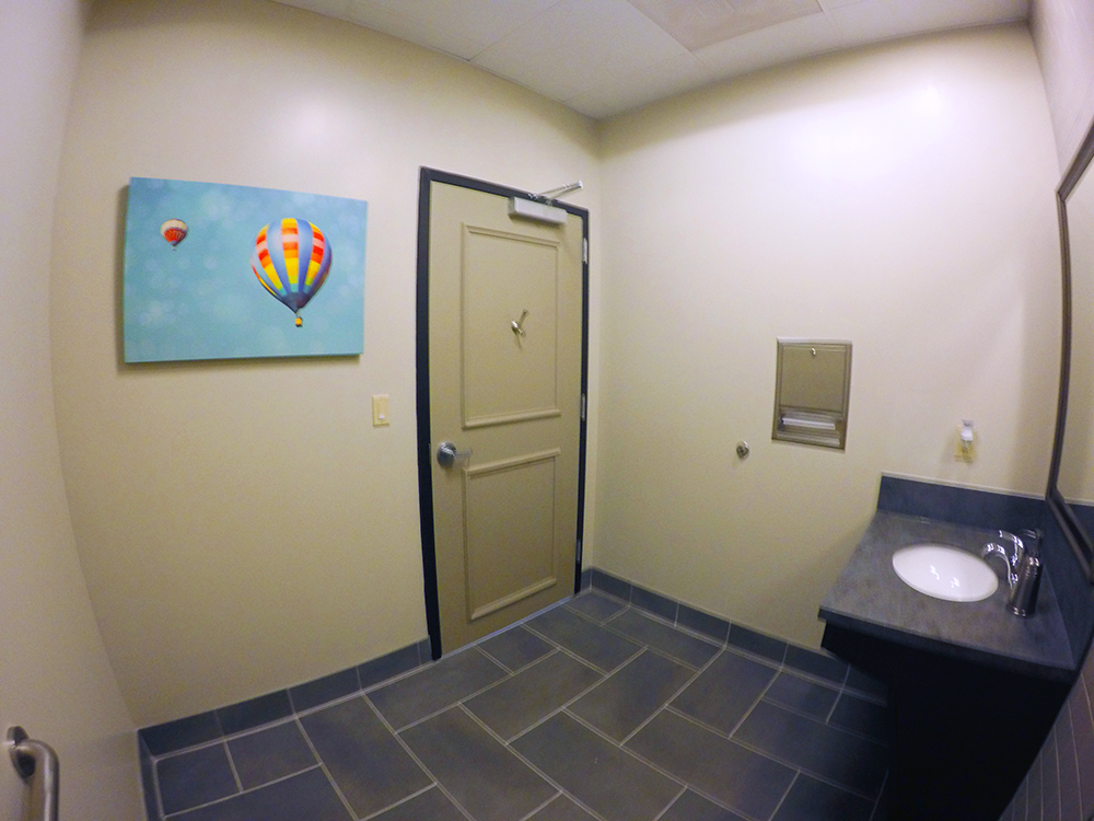 Patient Restroom - Actual Image