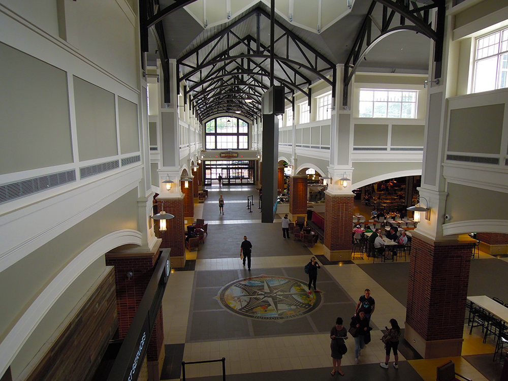 Woodbury Common Market Hall Interior