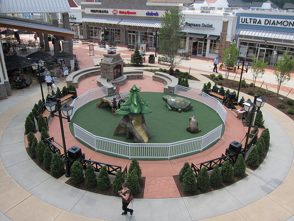 Merrimack Premium Outlets Play Area