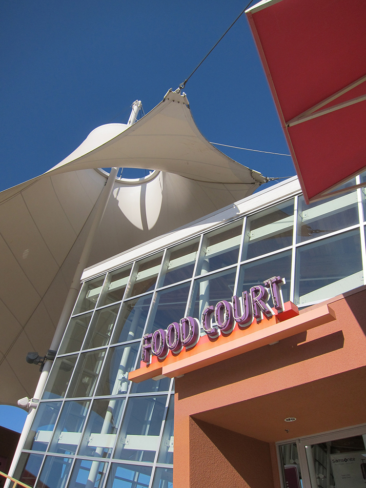 LVPO PHI Food Court Exterior