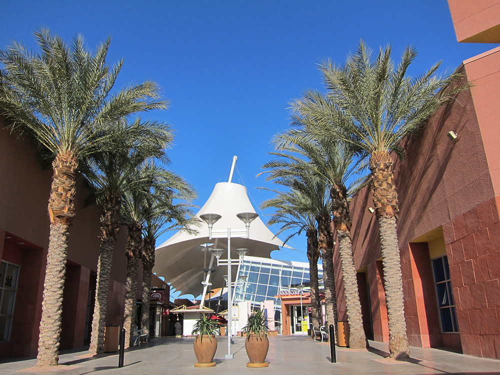 Las Vegas Premium Outlets Design Architect Entry Plaza