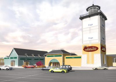Jersey Shore Lighthouse Tower Rendering