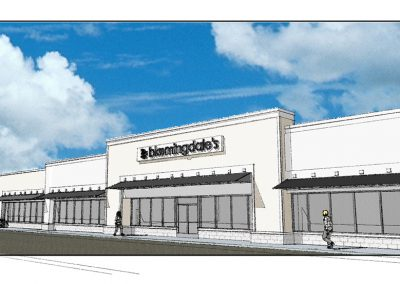 Wrentham Village Outparcel 3D View Retail Client Visualization