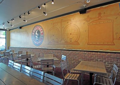 Ghostface Seating and Mural