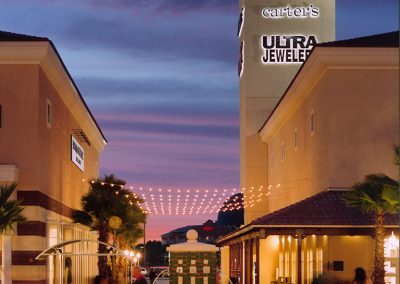 Orlando Premium Outlets Buidling Tower Design Lighting Architect Night