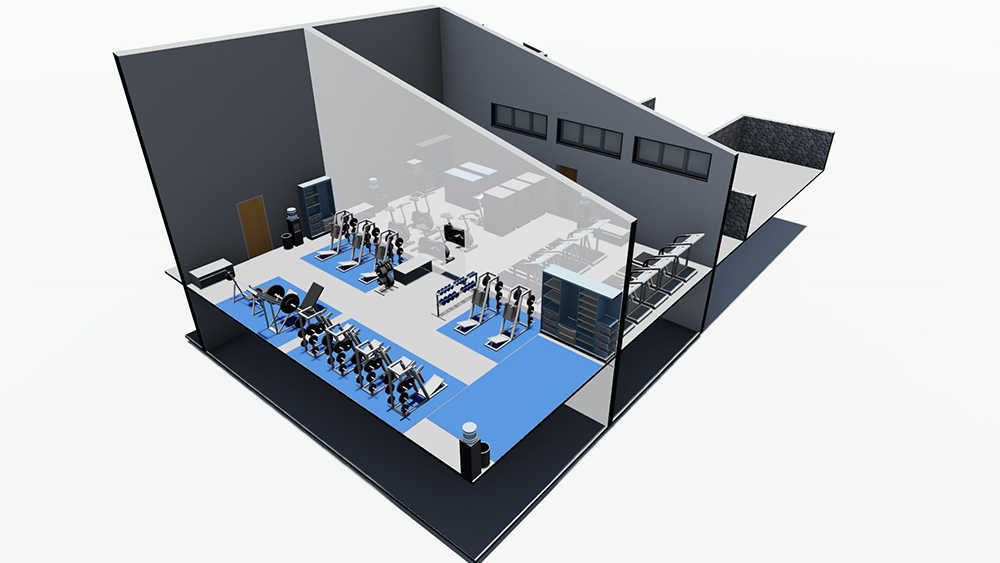 Country Club Weight Room
