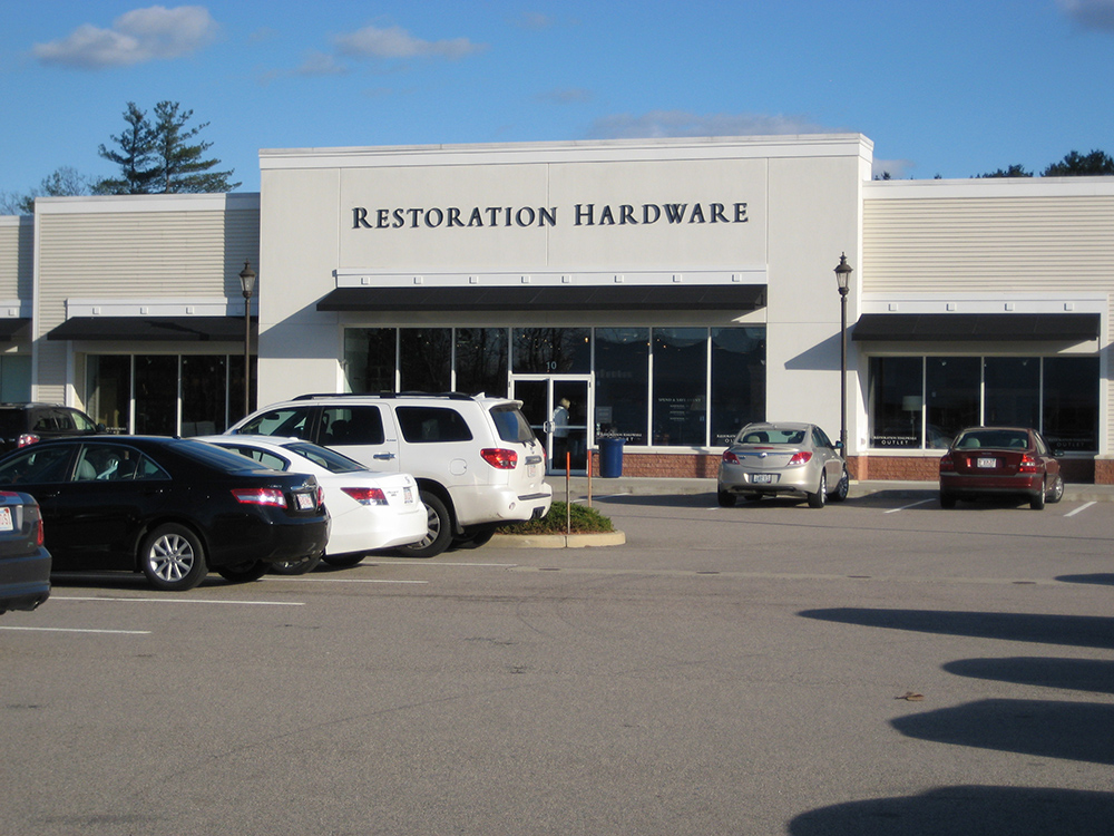 Wrentham Village Outparcel Restoration Hardware Building Design Architect