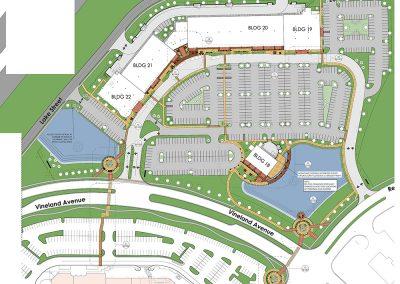 Orlando Premium Outlets Vineland Site Hardscape Design Plan