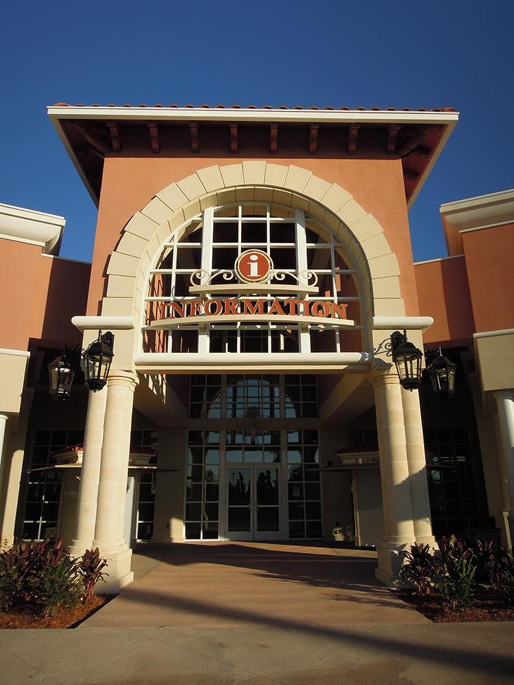 Orlando Premium Outlets Vineland Information Pavilion