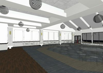 Country Club Ballroom Interior Design