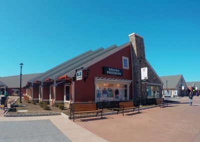 Woodbury Common Premium Outlets Hudson Valley Facade Architecture Hardscape Renovation Design