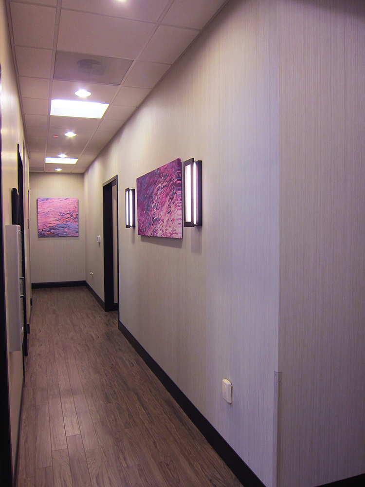 Patient Corridor Interior Design