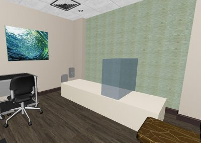 Digital Image View DEXA 3D Model Exam Room Interior Design